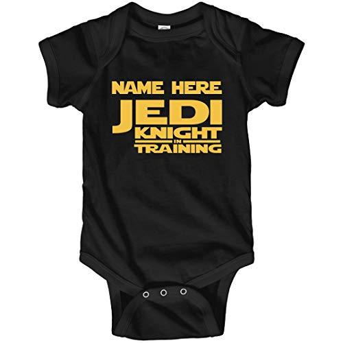 Custom Jedi Bodysuit: Infant Bodysuit Black