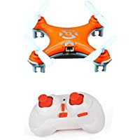 NiGHT LiONS TECH Cheerson CX-10 Mini 2.4G 4CH 6 Axis LED RC Quadcopter Toy Drone orange