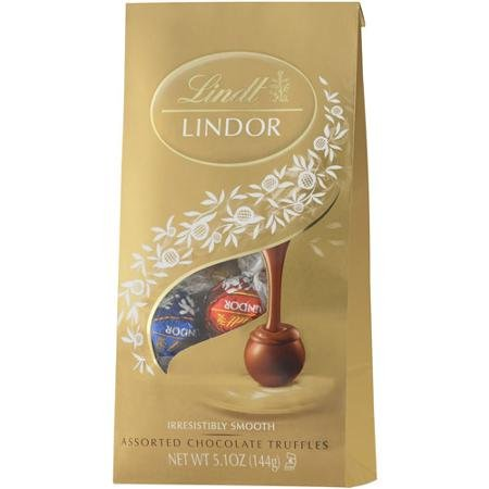 (Lindt Assorted Milk, Dark And White Lindor Truffles With A Smooth Filling, 5.1 oz)