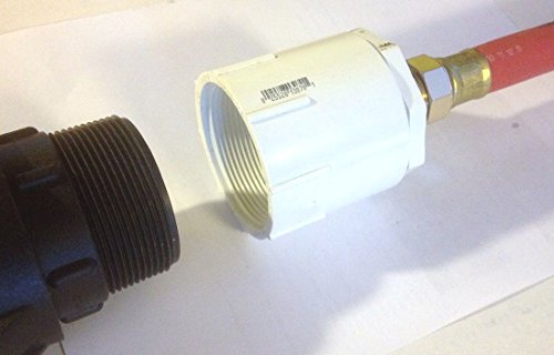 275 - 330 Gallon IBC Tote Tank Drain Adapter 2