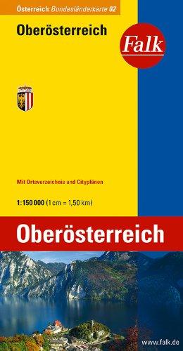 Falk Bundesländerkarte Österreich Oberösterreich 1:150 000