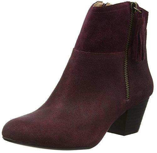 Nine West Damen Hannigan Kurzschaft Stiefel Red (Chianti)