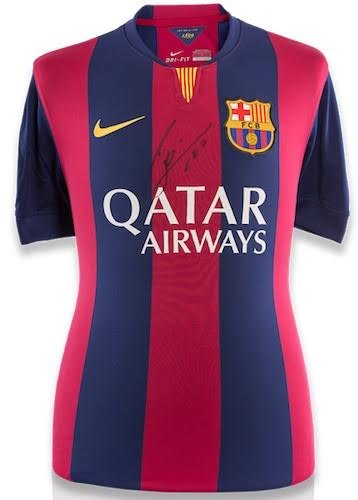 b90f1570f Image Unavailable. Image not available for. Color  LIONEL LEO MESSI  Autographed FC Barcelona Home Shirt ...