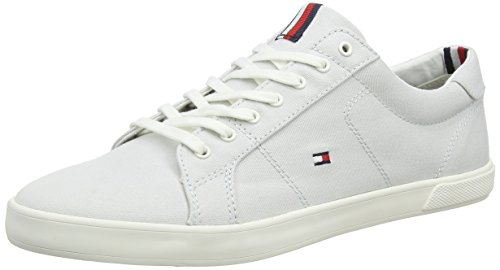 Lace Homme Sneaker Sneakers Bleu Barely 424 Gris Hilfiger Tommy Iconic Long Basses Blue qWw0B66OtH