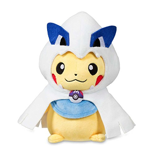 Pikachu Wearing A Costume (Pokemon Center Pikachu with Lugia Hoodie Poké Plush (Standard) - 8