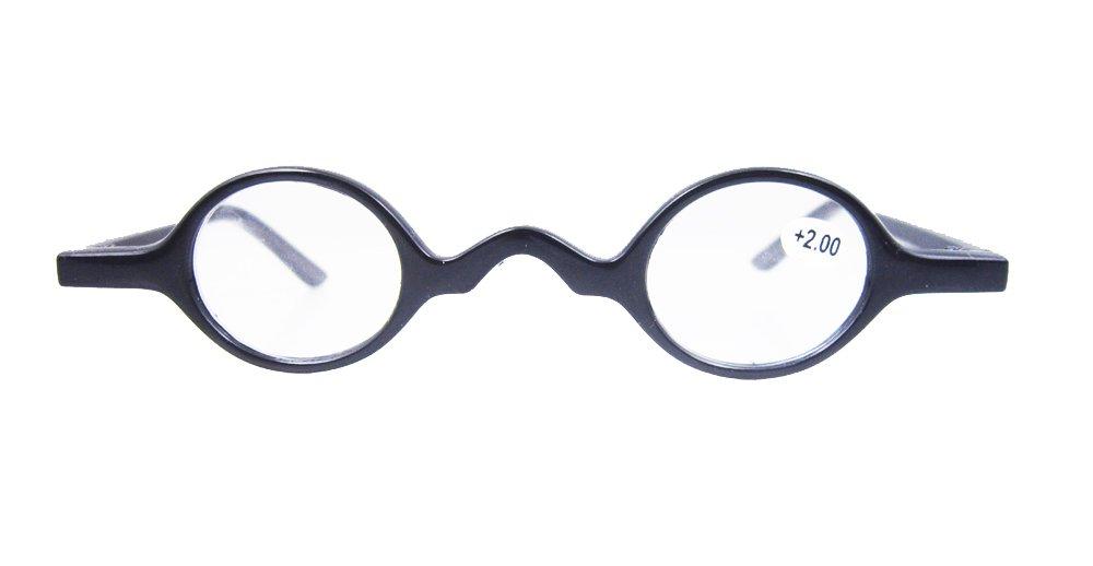d7f61d00427 Designer Readers Cute Small round Oval Vintage Reading Glasses Eyeglasses  (+1.75