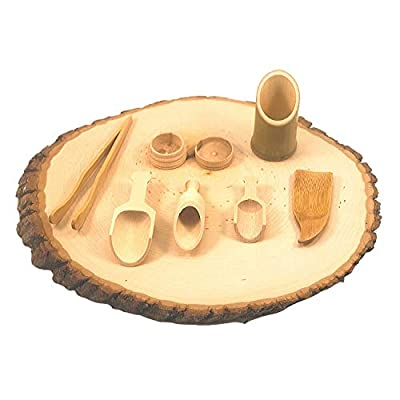 Scoop Up and Pour - Sensory Bin Transferring Tools for toddlers - Montessori and Waldorf aligned open-ended toys. Wooden cups and tongs for toddlers - Open-ended wooden toys - Fine Motor Learning: Toys & Games