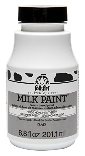Cot Paint - FolkArt Milk Paint in Assorted Colors (6.8 oz), 38920 Monument Gray
