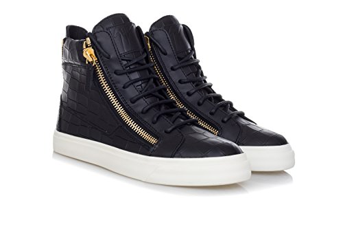 Baskets Nero Montantes Zanotti Homme Giuseppe RS6012 wxqgt