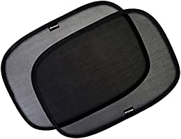 "Enovoe Car Window Shade - 21""x14"" Cling Sunshade for Car Windows - Sun, Glare and UV Rays Protection for Your Child -..."