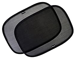 The Secret To Keeping Your Baby Cool and Comfy in The Car  The Best Car Window Shade To Protect Your Precious Child.  - Fits Large car windows of SUVs, Minivans and Large Sedans. - Easily Installs without falling off with static-cling technology.   -...