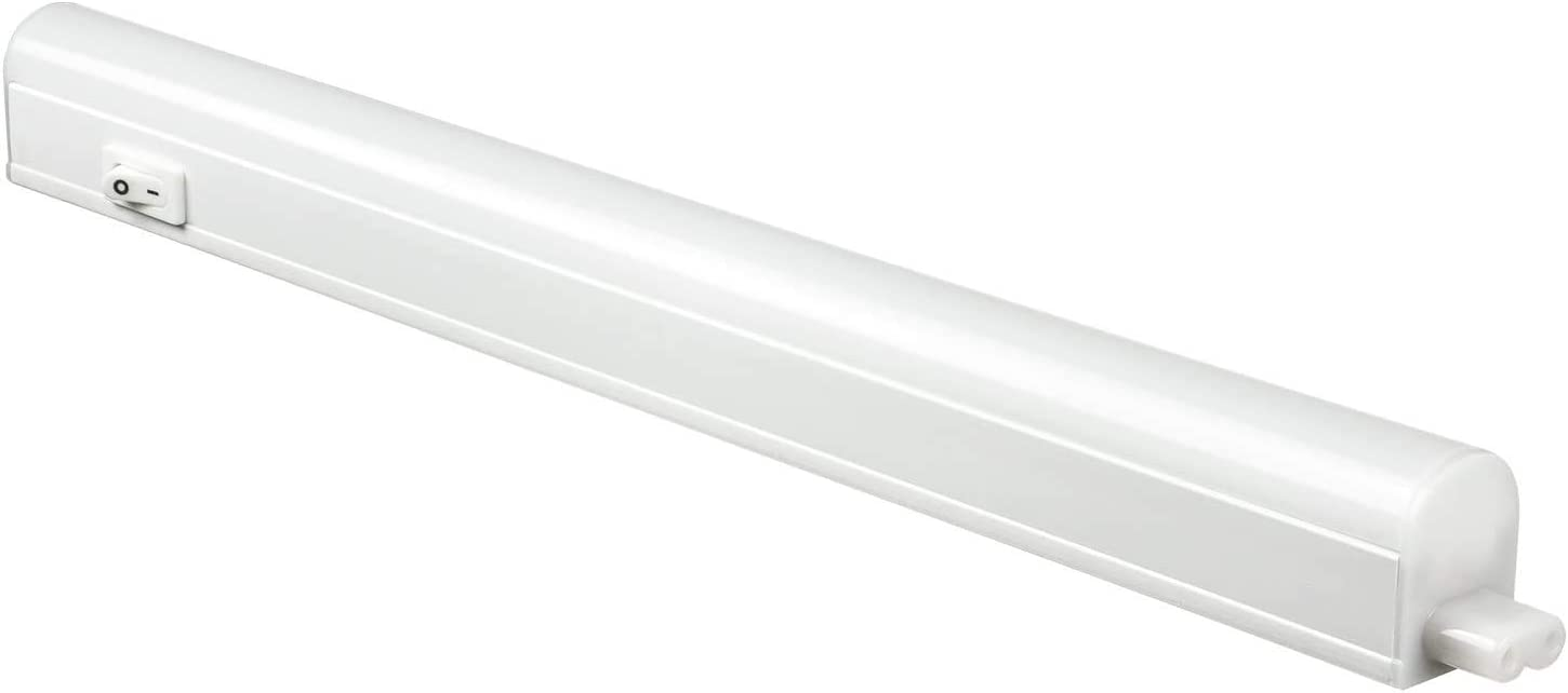 Sunlite 53072-SU LED Linkable Under Cabinet Light Fixture 22-Inch Size, 8 Watts, 120 Volts, 640 Lumen, 3000K Kitchens, Bathrooms, Offices, Workbenches, ETL Listed, 30K-Warm White