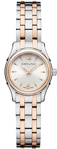 Hamilton Women's H32271155 Lady Jazzmaster White Dial Watch