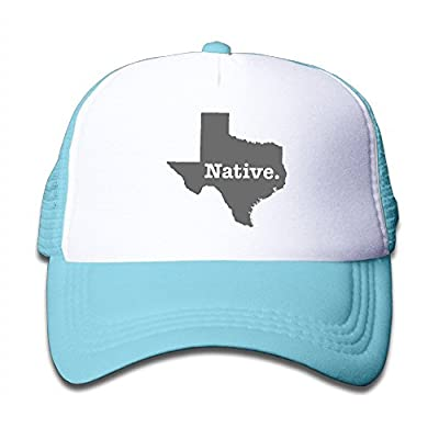 Texas Native Snapback Hat Adjustable Back Mesh Cap for Toddler by LCUCE