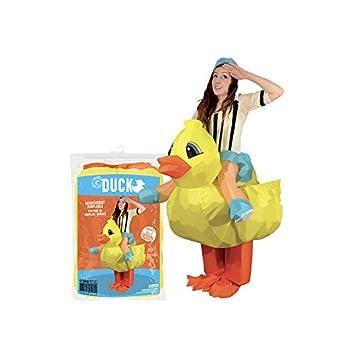 Traje del pato inflable para adultos