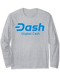 New Logo Dash Long Sleeve T-Shirt Blockchain Cryptocurrency