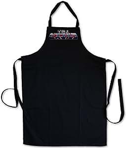 SEI JUSHI Bismarck Logo Barbecue BBQ Kitchen Cooking Apron Anime TV Series Saber Rider and The Star Sheriffs und die Starsheriffs