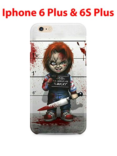 Halloween design (for Iphone 6 Plus / Iphone 6s Plus) 5.5in Hard Case Cover (hall14)