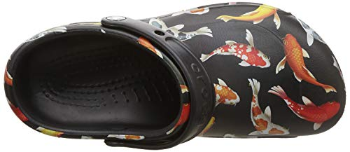Clog 0s3 Crocs Graphic black Noir Mixte Adulte Sabots Bistro tangerine EUPqw7