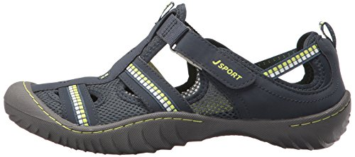 Pictures of JSport by Jambu Women's Regatta Flat Black/White _DELETE_ 5