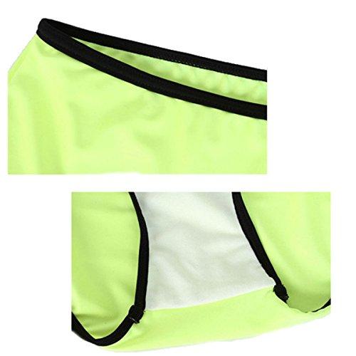 Las Personas Ms De Gran Tamaño Color Fat Traje De Baño Bikini Traje De Baño Del Balneario Del Traje De Baño Green