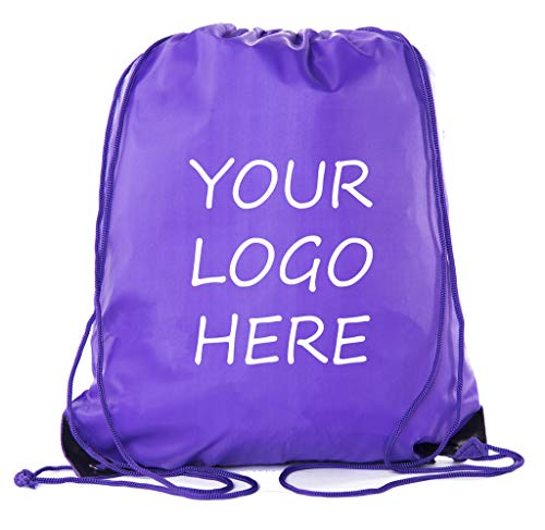Mato & Hash Custom Logo Drawstring Backpacks, Personalized Bags Promotional Events & More! ()