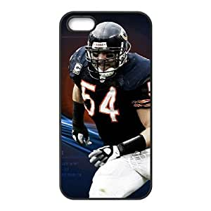 Chicago Bears iPhone 4 4s Cell Phone Case Black persent zhm004_8474056