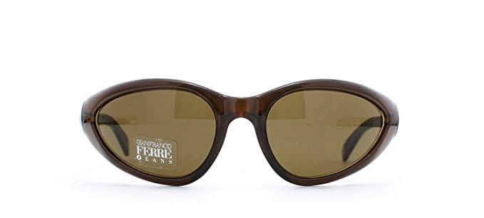 88a64c3ed20b Gianfranco Ferre 9 3MD Brown Square Certified Vintage Sunglasses For  Womens  Amazon.co.uk  Clothing