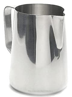 New 20 oz Espresso Coffee Milk Frothing Pitcher, Stainless Steel, 18/8 gauge (B000FNK3Z4) | Amazon price tracker / tracking, Amazon price history charts, Amazon price watches, Amazon price drop alerts