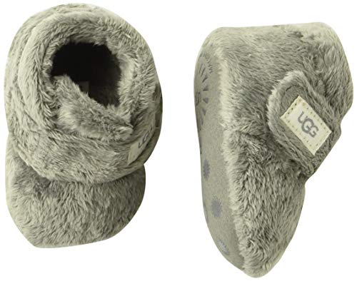 UGG Baby BIXBEE Crib Shoe, Charcoal, 0/1 M US Infant, used for sale  Delivered anywhere in USA