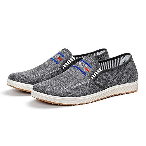 Durable Sole Tela Para Claro En Tamaño Azul Soft Espadrilles Old Negro Beijing Eu Qiusa 42 Hombre color De Zapatos Pumps Slip vqCPnpB