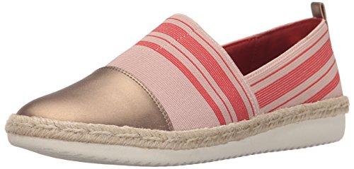 Easy Spirit Women's Ordell Light Pink Multi/Light Copper Fabric 9.5 M (Light Pink Leather Footwear)