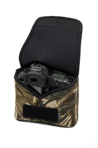 LensCoat BodyBag Pro camouflage neoprene camera lens protection (Realtree Max4 HD) (Camouflage Camera Case)