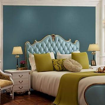 ZCHENG Style nordique couleur pure simple papier peint salon chambre ...