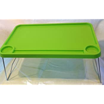 "Amazon.com: Ikea Bed Tray Foldable 22x14"" Breakfast Table Laptop Support Green Desk Nordby: Home ..."