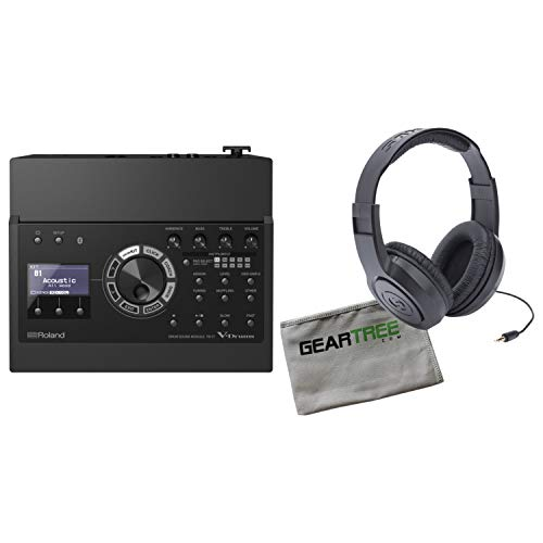 Roland TD-17 Drum Sound Module w/Headphones and Geartree Cloth