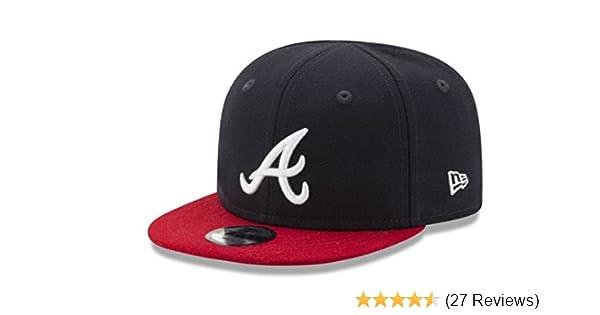 size 40 7448d 0eee6 Amazon.com   MLB Atlanta Braves Infant s 9Fifty Snapback Cap   Sports Fan  Baseball Caps   Sports   Outdoors