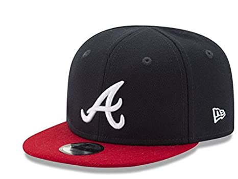 save off 01a72 17dc3 MLB Atlanta Braves Infant s 9Fifty Snapback Cap