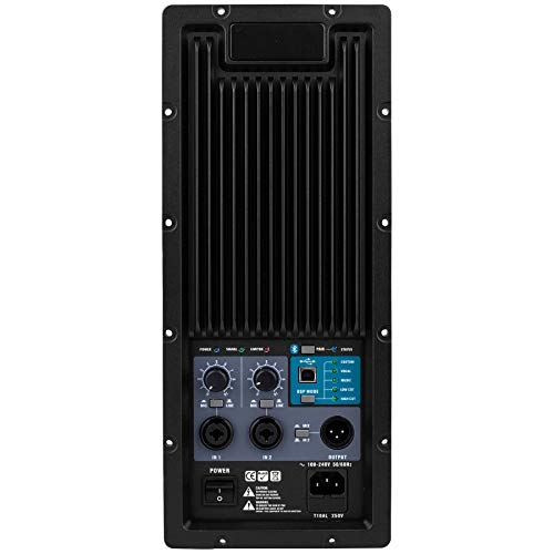 (Dayton Audio PPA800DSP 2-Way Plate Amplifier 800W 2-Channel with DSP and Bluetooth)