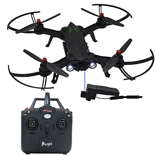 Blomiky Bugs 6 B6 Racing High Speed Motor Brushless Quadcopter Drone with 5.8G HD 720P Camera Bugs9 RC Helicopter B6F (Best Budget Drone With Hd Camera)