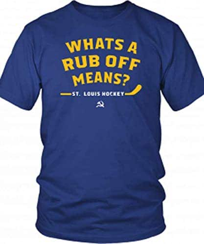 Amazon.com: Symmetry Design WHATS-A-RUB-OFF-MEANS T-Shirt ...