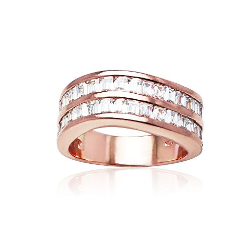 Yellow Gold Baguette Ring - 1