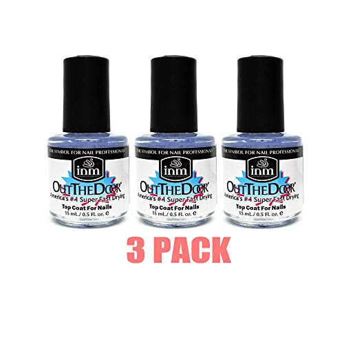 INM Out the Door top coat (Pack of 3)  0.5 ounce