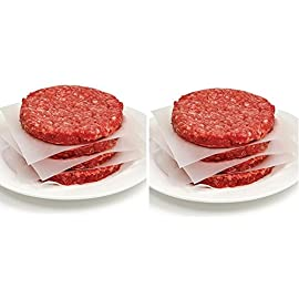 "Norpro 3404 White Square 6"" Wax Papers For Burgers Filets Meat Candy, 250-Count 14 Ideal for preparing burgers and filets for easy separation Perfect for candy making and wrapping, wont stick to caramels or hard candy. Wont stick to fresh foods or freeze to meat."