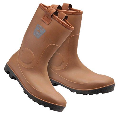 Bryson 180310-Stivali di sicurezza, misura 7, colore: marrone chiaro