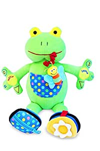 My PAL Jumper the Frog Activity Toy – Best Educational Toy for Babies and Toddlers 9 Mos. To 3 Yrs - The Safe, Cuddly and Fun Way to Help Your Child Learn