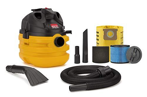 Shop-Vac 5 Gallon 6.0 Peak HP Portable Contractor Wet Dry Vacuum – 5870210