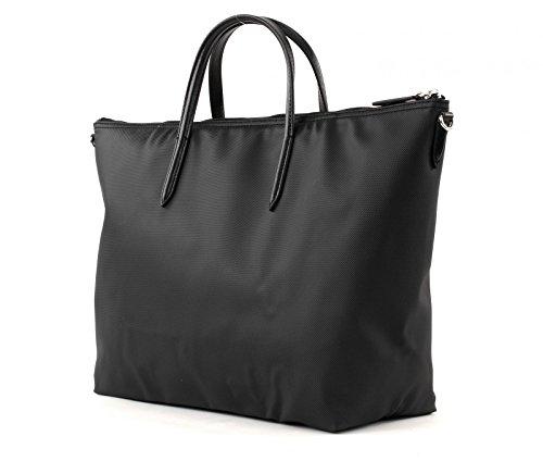 LACOSTE L.12.12 Concept SStrap L Shopping Bag Black