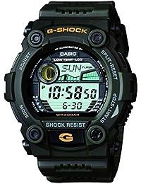 Men's XL Rescue Series G-Shock Quartz 200M WR Shock Resistant Resin Color: Oilve Green (Model G-7900-3CR)