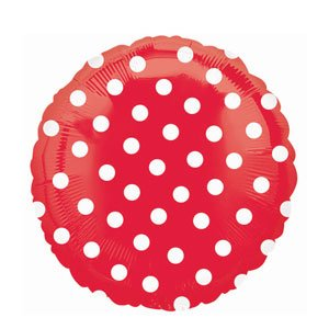 Mayflower BB020384 Red Polka Dot (Simple Yet Cool Halloween Costumes)